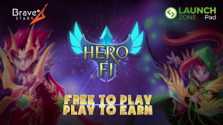 HeroFi - New NFT game from Bravestars Games and Launchzone