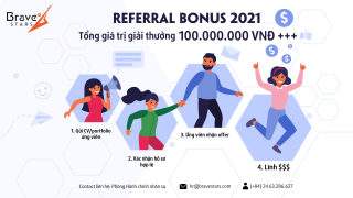 Bravestars: Referral Bonus 2021